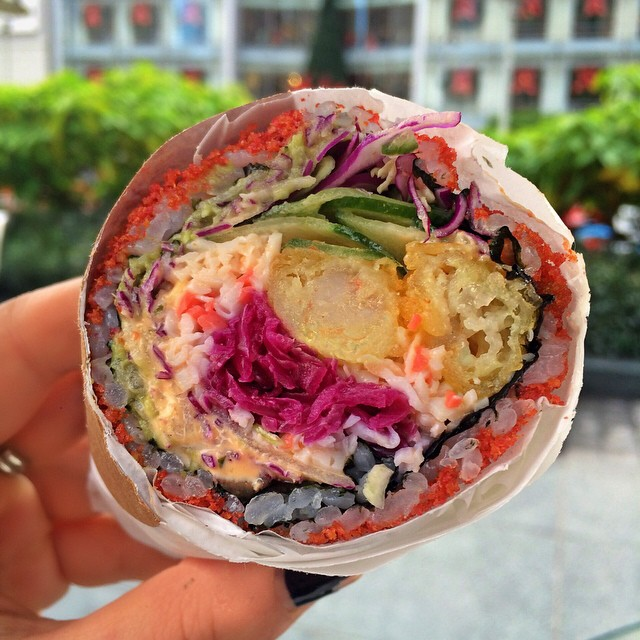 Sushi burritos are about to change our whole lives