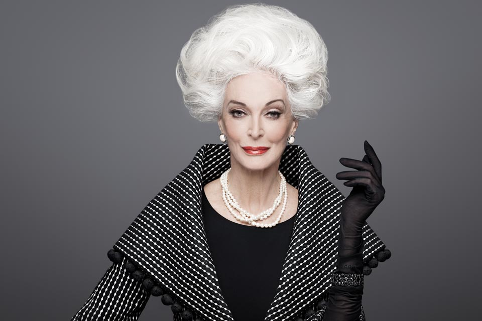 Carmen Dell'Orefice and what the wave of older models is teaching us about beauty