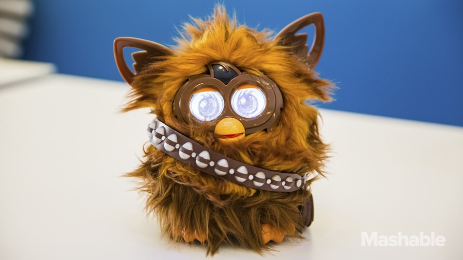 Meet Furbacca: The very hairy, very intense-looking 'Star Wars' Furby