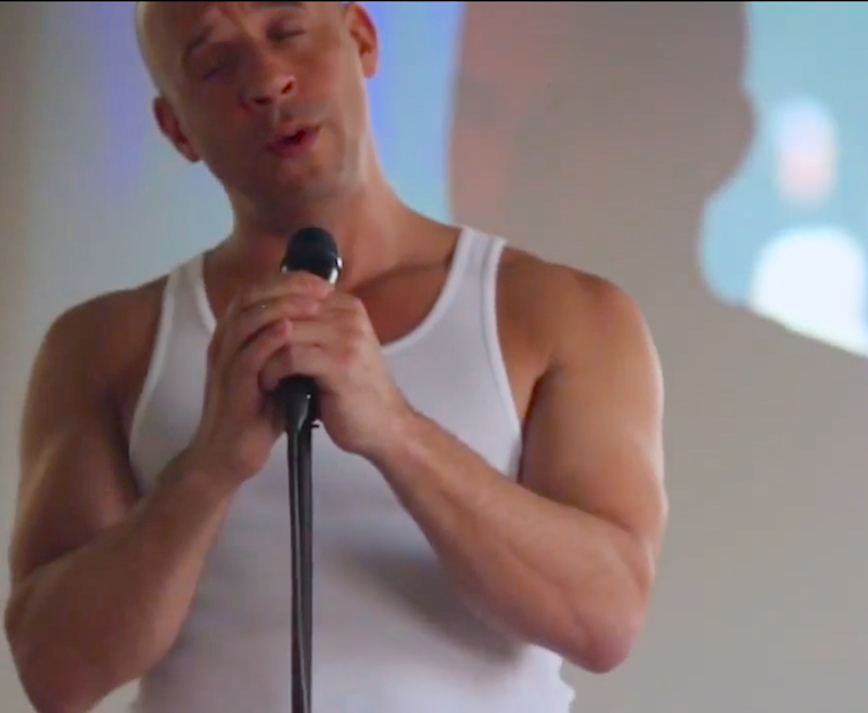 """Things you need to see: Vin Diesel sings """"My Heart Is Open"""" for Valentine's Day"""