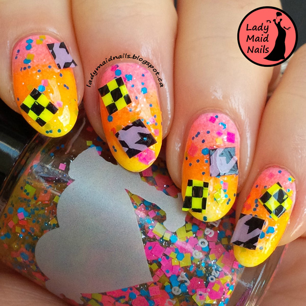 Nails of the Day: Like, totally rad