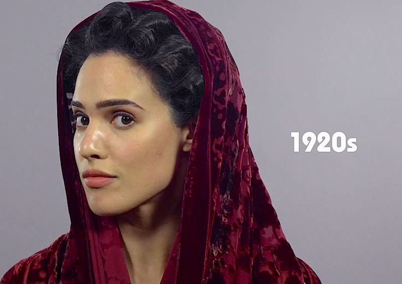 Watch how beauty has changed in Iran over the past 100 years