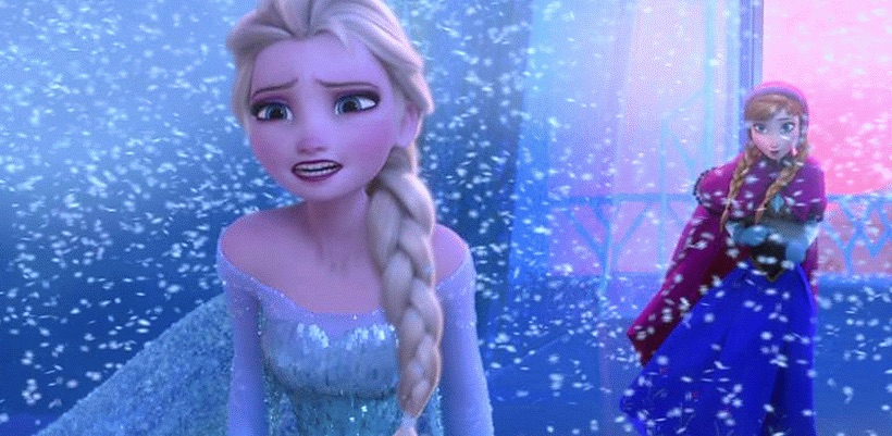 There's a warrant out for Elsa from 'Frozen's' arrest. Seriously.