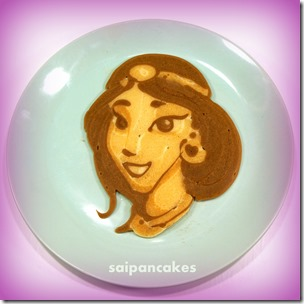A dad with a super talent: making Disney princess pancakes