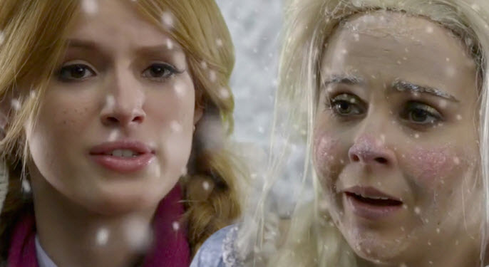 Mae Whitman and Bella Thorne kill it in this hilarious Funny or Die 'Frozen' spoof