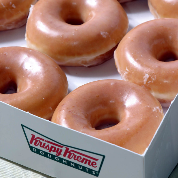 Telling you this cuz we love you, free donuts at Krispy Kreme TODAY
