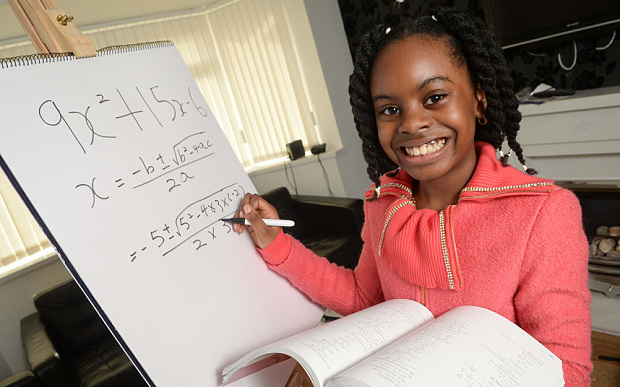 This 10-year-old prodigy is putting all our math skills to shame