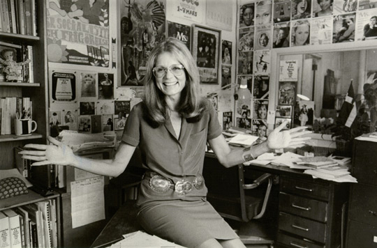 There's a Gloria Steinem mini-series coming and we love who's playing her