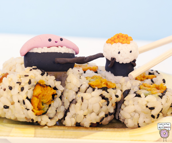 Going second isn't always such a bad thing (if you're sushi)