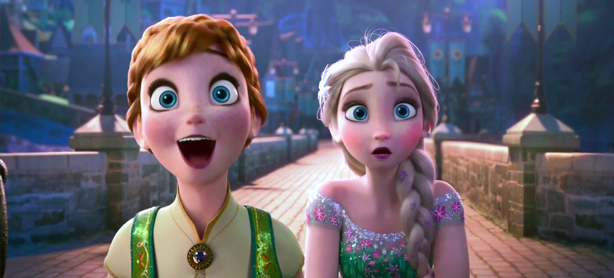 The 'Frozen' short trailer is here! Go put your eyeballs on it!
