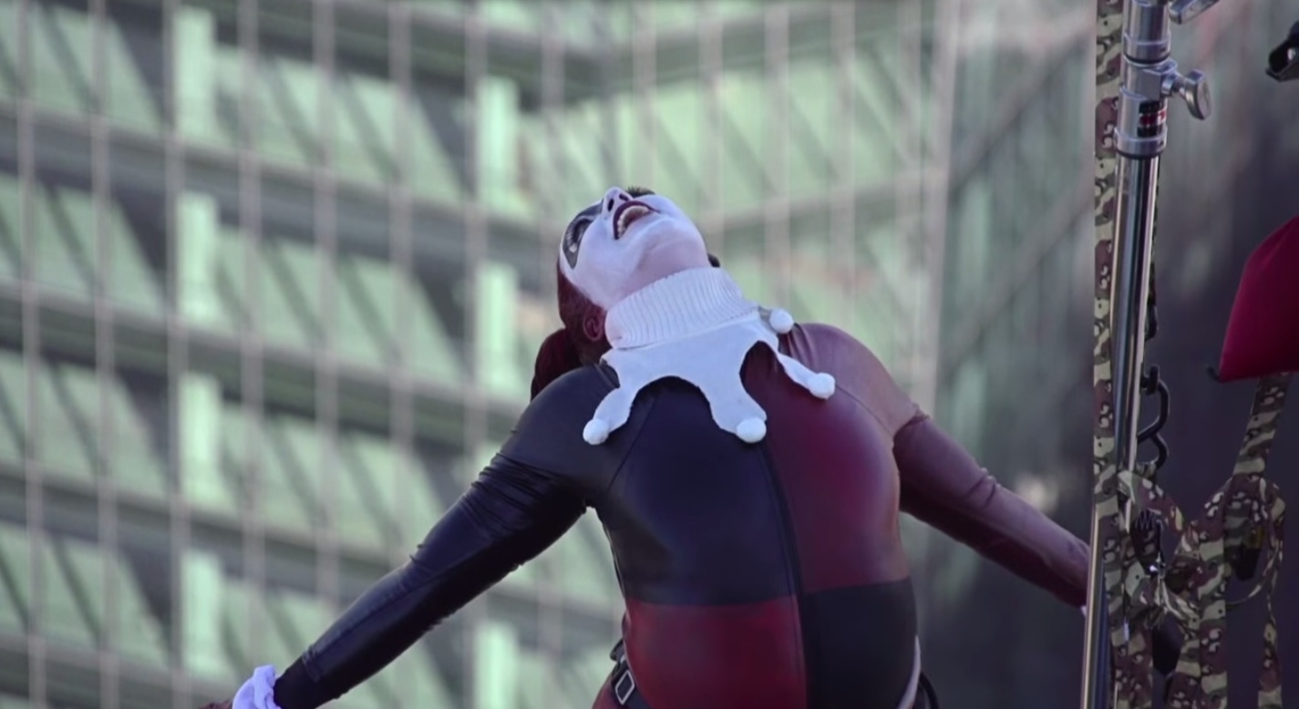 Real people face their fear of heights, by becoming superheroes