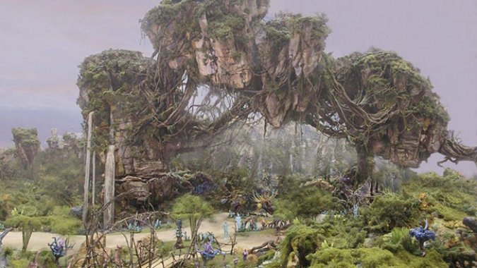 Disney is basically making the world of Avatar a reality. NBD.