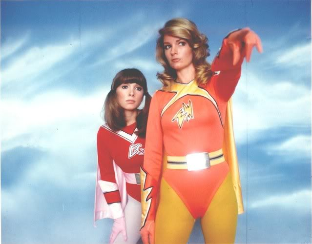 Electra Woman and Dyna Girl, we are SO excited for your comeback