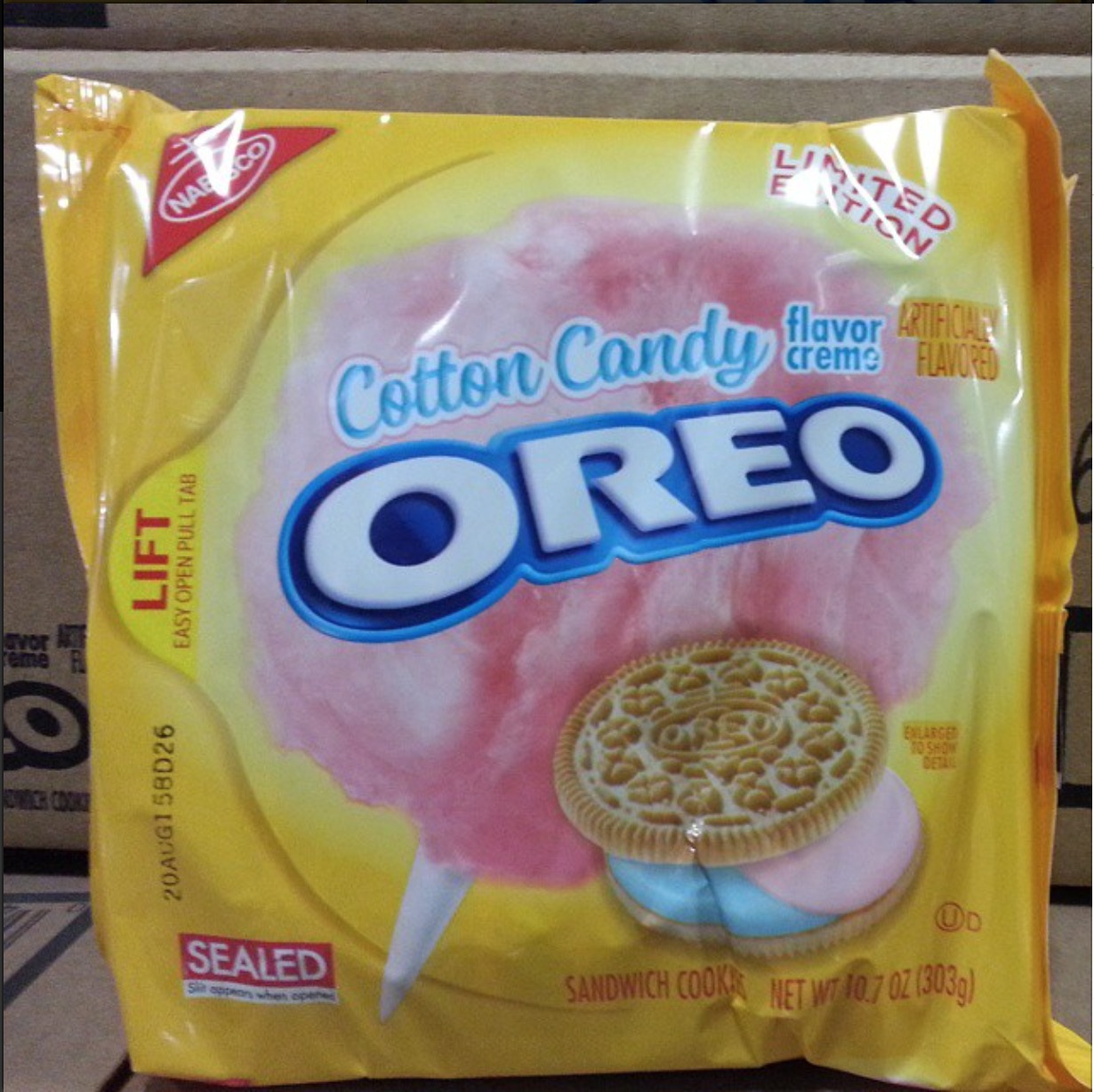 Today in cookies: Cotton candy Oreos are coming!