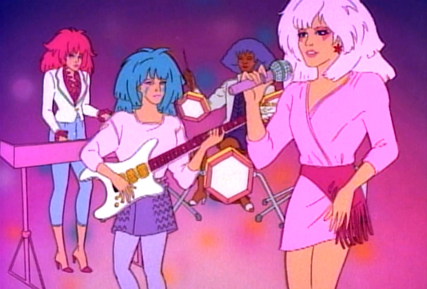 Obsessing over this very first pic of the real life 'Jem and the Holograms' movie