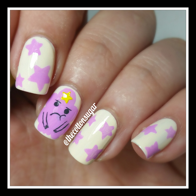 Princess Nail Art: Nails Of The Day: They're Lumping Fabulous