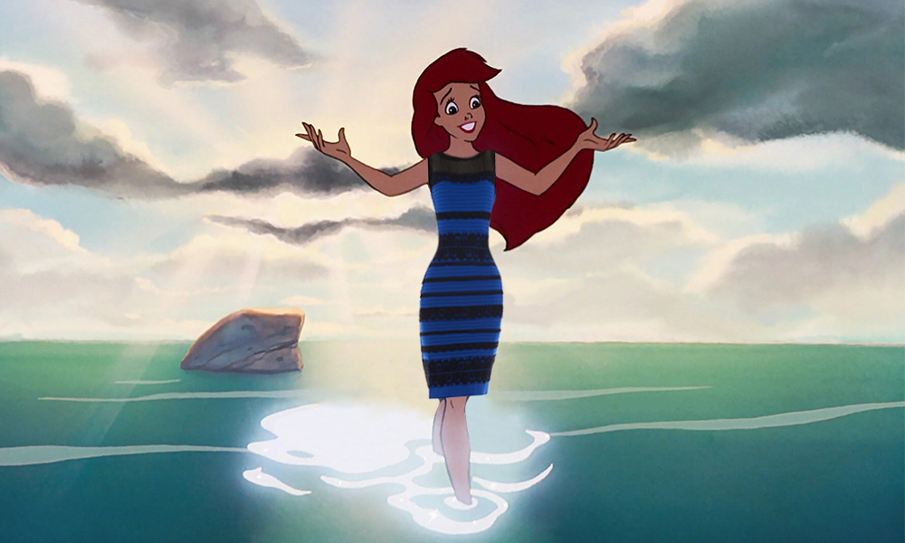 And now, inevitably, Disney princesses wear THE DRESS