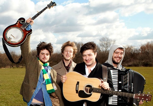 This just in: Mumford and Sons are going 'electric'