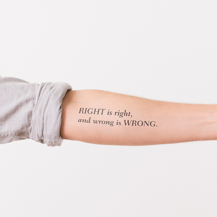 These temporary tattoos are every bookworm's dream come true