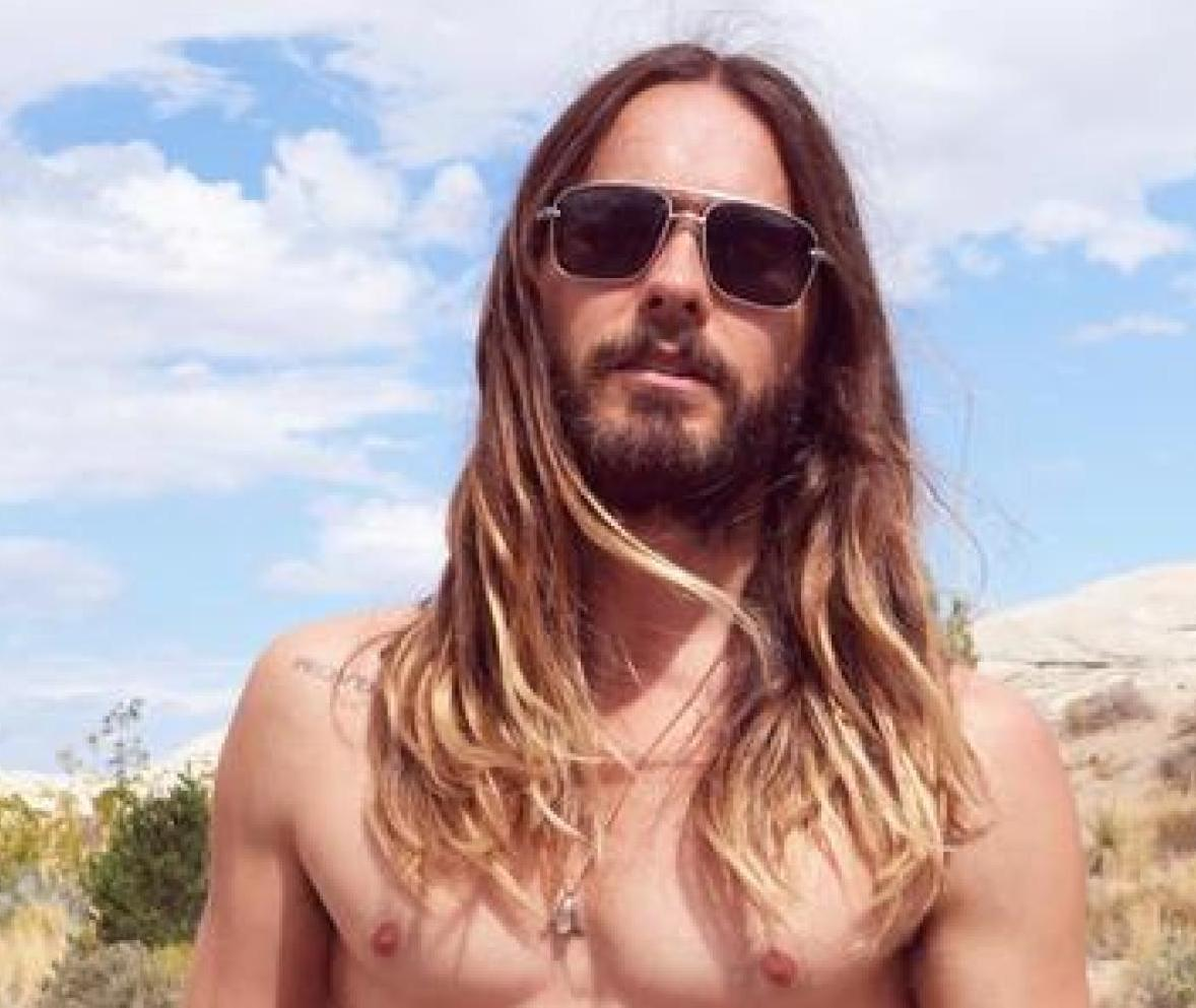 Saying a heartfelt goodbye to Jared Leto's beautiful, beautiful hair