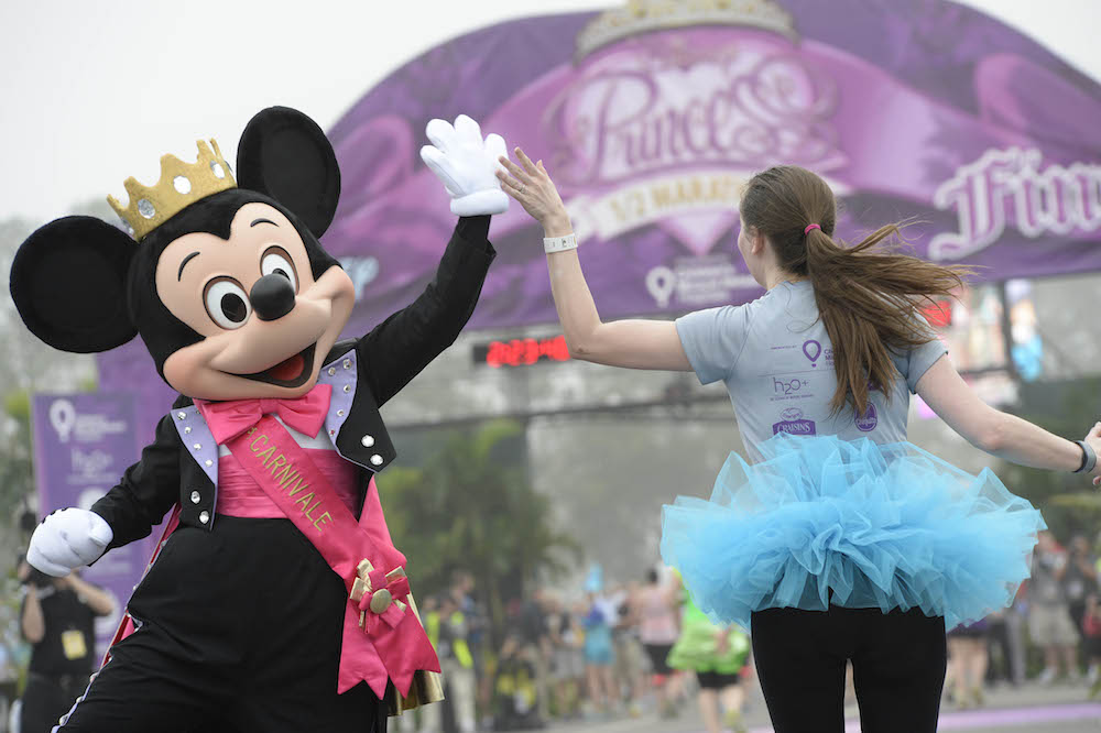 I worked the Disney Princess Half Marathon, and here's why you should totally run it
