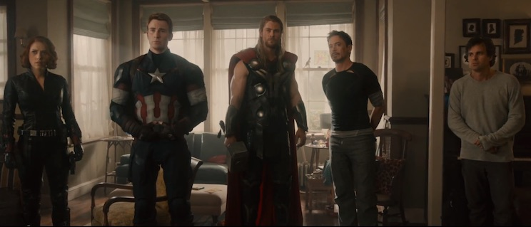 We'll be watching the new 'Avengers: Age of Ultron' trailer all night long