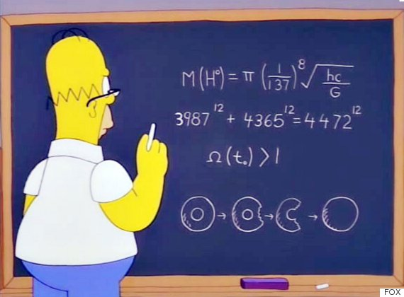 Homer Simpson might have discovered the 'God Particle'