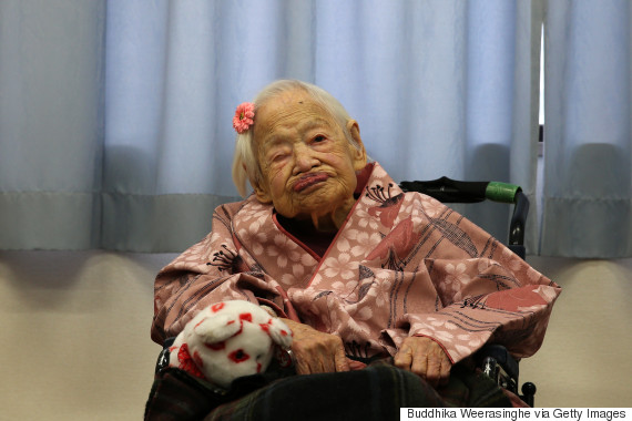 Misao Okawa, the world's oldest woman, is cooler than all of us