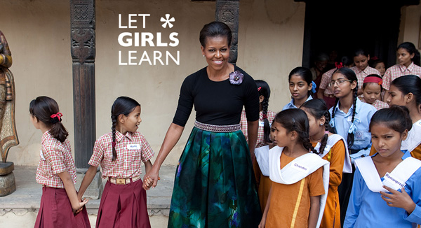 Obama's new Let Girls Learn initiative is very important — here's why