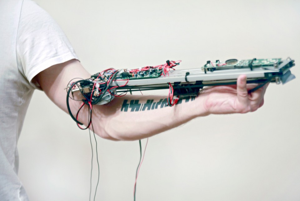 This amazing machine translates your tattoos into music