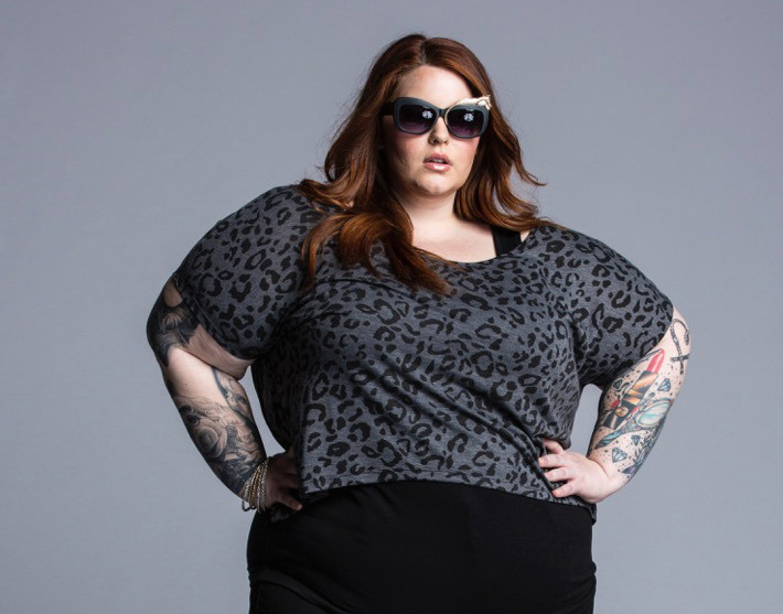 These unretouched photos of model Tess Holliday prove body diversity is beautiful