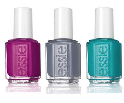 Obsessing over the new Essie nail polish colors for springtime