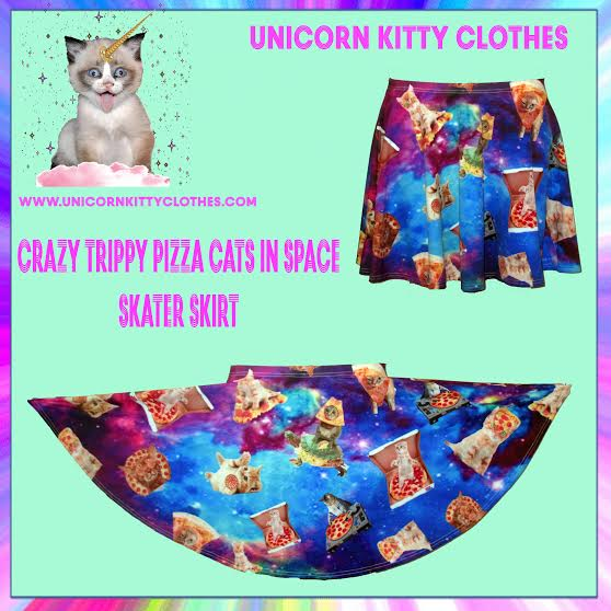 These clothes from Unicorn Kitty are wonderfully weird