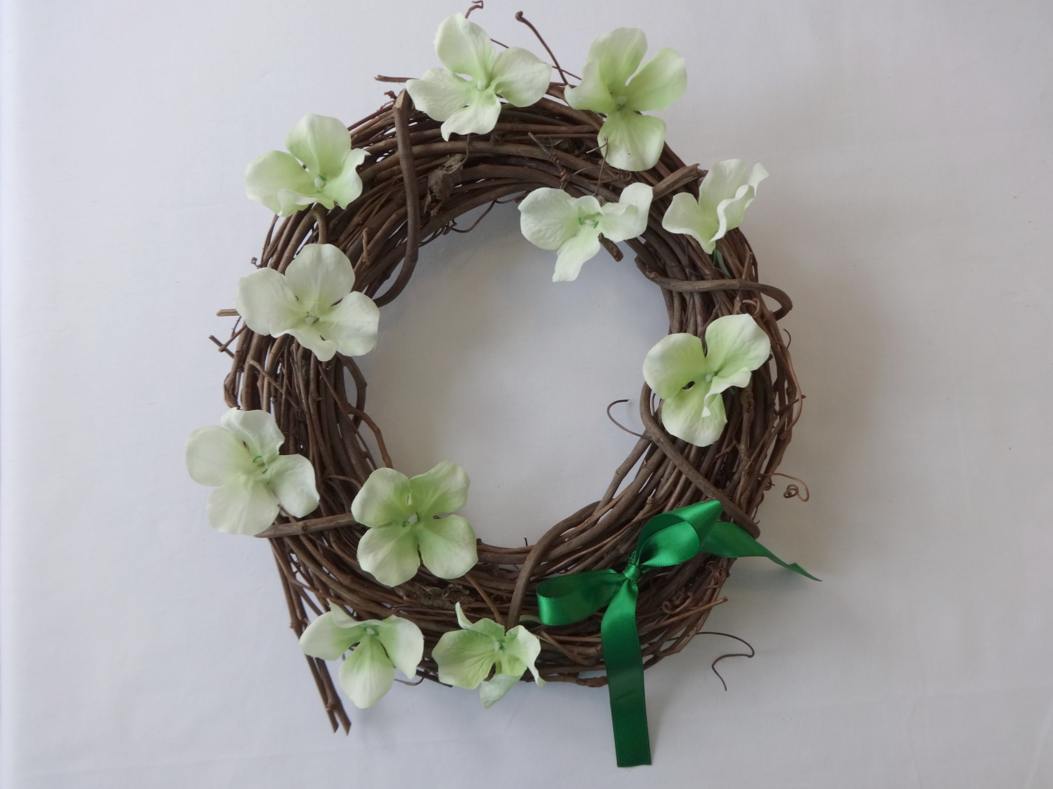 A springtime wreath for St. Patrick's Day? D-I-Why not?