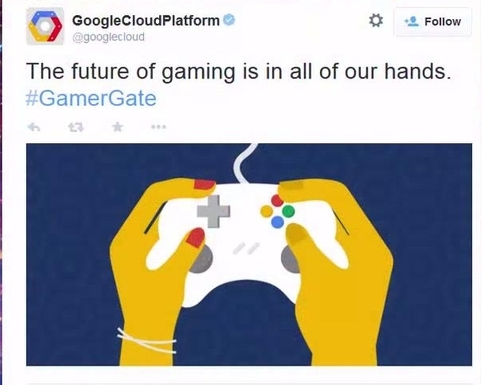 Google may have deleted their tweet supporting #Gamergate, but it still stings