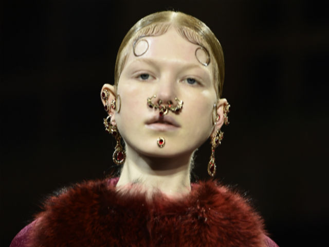 "This Givenchy ""Victorian chola"" runway look is all kinds of problematic"