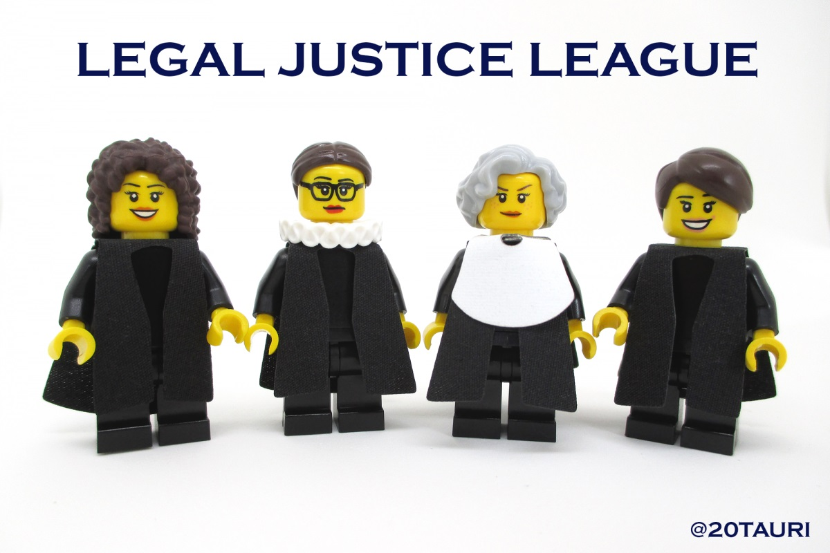 The Justice League we can totally get behind: LEGO ladies of the Supreme Court
