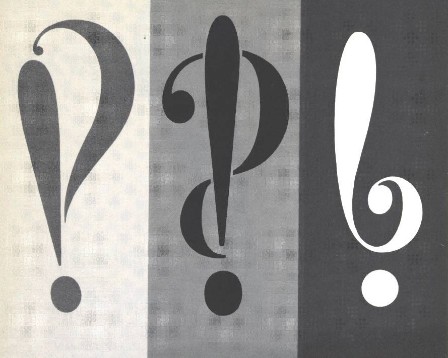 What do you mean, you're not using these weird and wonderful punctuation marks‽