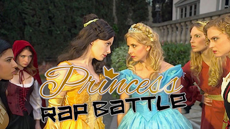 Disney Princess Rap Battle: Sarah Michelle Gellar's a Cinderella with mad skills