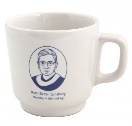 Now we can have our tea with Ruth Bader Ginsburg anytime we want