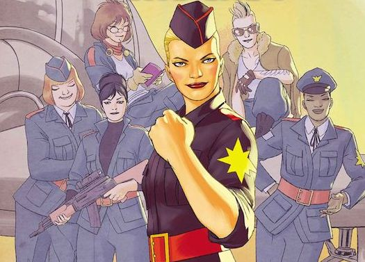 We're all about Marvel's new female-driven comic