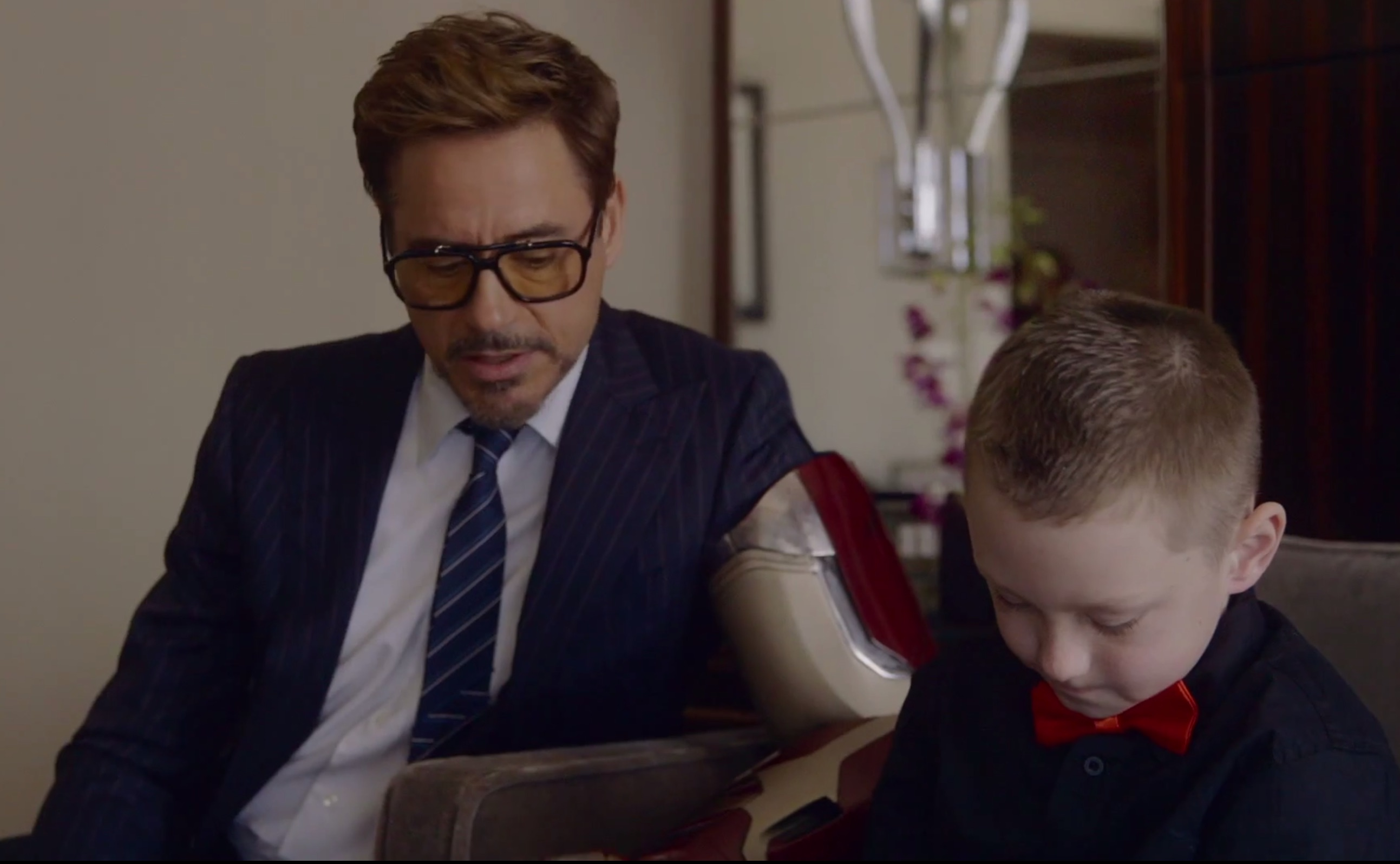 Feels alert: Ironman RDJ becomes real-life superhero for a 7-year-old boy