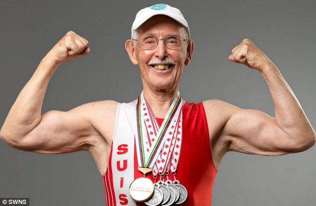Today in inspiring: This 95-year-old man just broke a major running record
