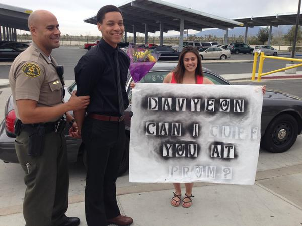 Are prom-posals getting out of hand? This girl just got her boyfriend arrested