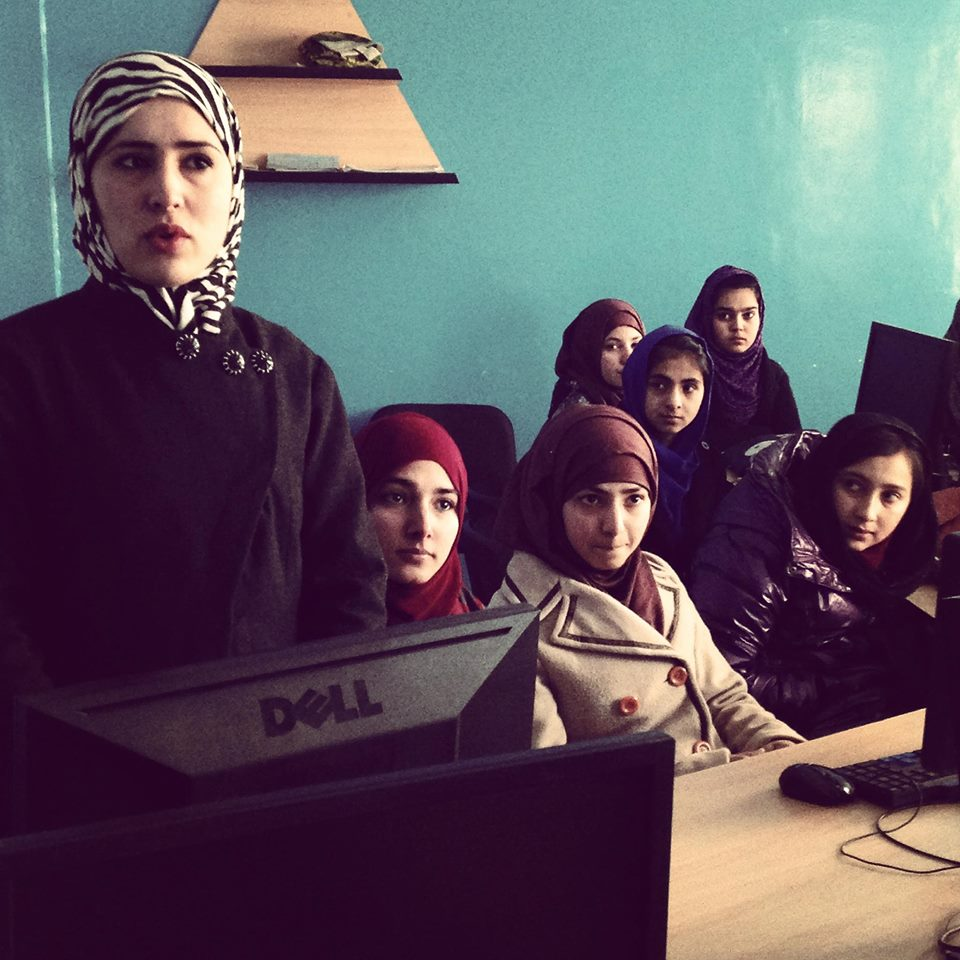 This incredible organization is giving girls in Afghanistan the chance to learn tech skills