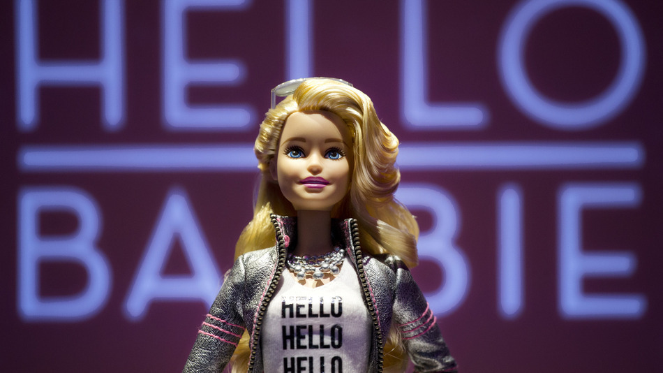 Barbie that can spy on kids causing all kinds of trouble