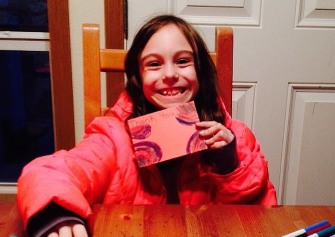 An 8-year-old girl performs 600 acts of kindness. Here's why