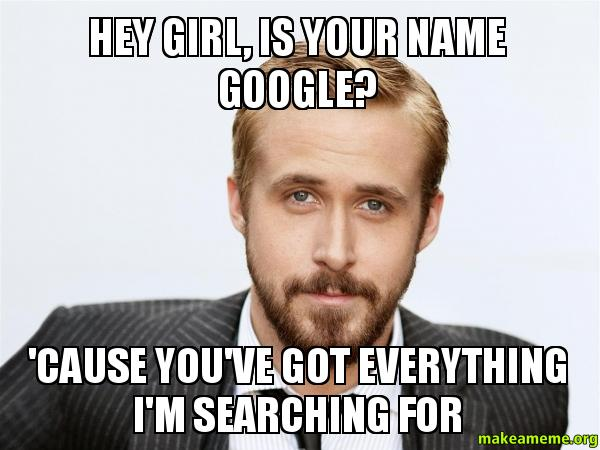 "Ryan Gosling states for the record that he has never said ""Hey girl"""
