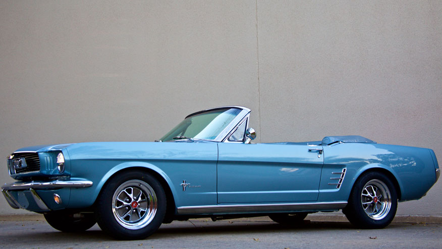 "The 1964 Mustang is coming back so you can get your ""Mad Men"" on"