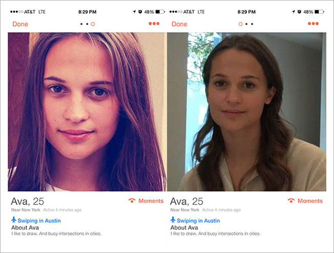 Why this woman's Tinder profile is messing with people's minds
